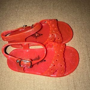 Pink jelly old navy sandals